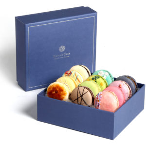 small box macarons