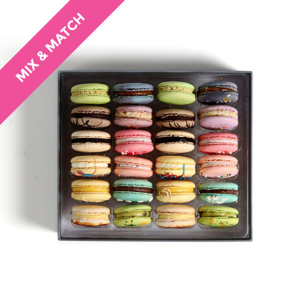 custom gift box macarons